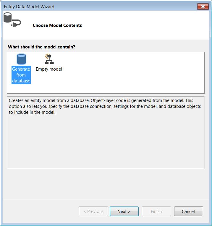 The ADO NET Entity Framework Data Provider